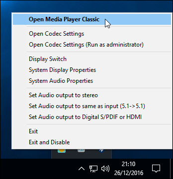 Media Player Codec Pack Plus for Microsoft Windows